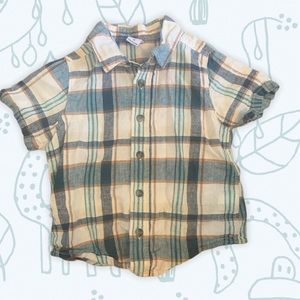 5/$30 Old Navy / Summer / Plaid / Button Down